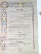 La dichiarazione del C.M.A.S.